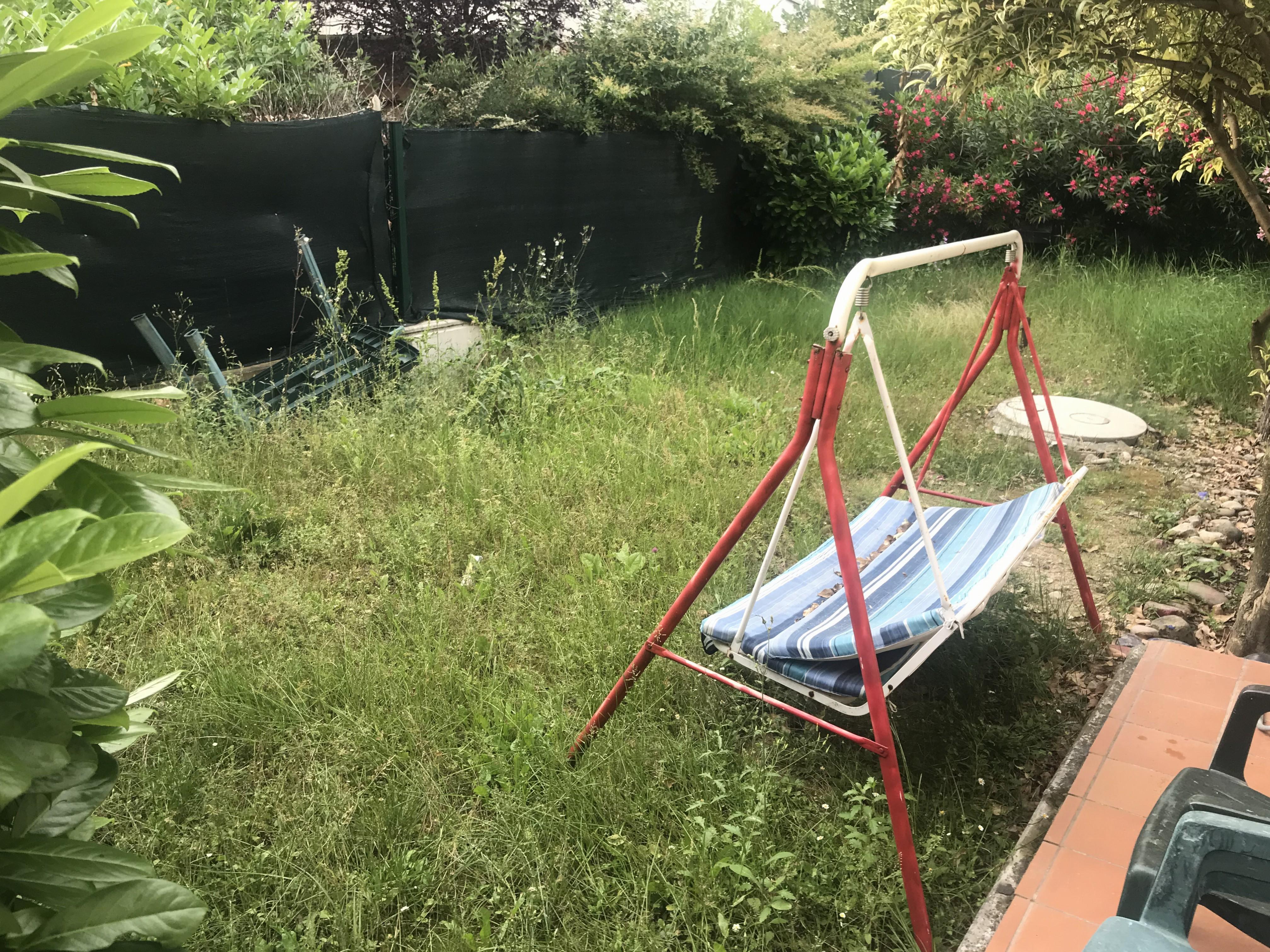 Lavino di Mezzo: monolocale con giardino privato