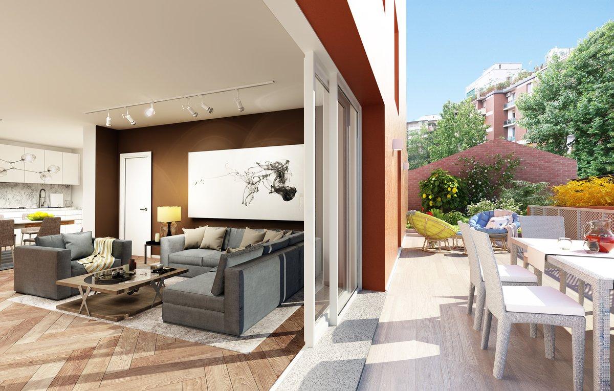 Ad.ze S. Orsola attico con terrazzo mq. 39 nuova costruzione 657.000