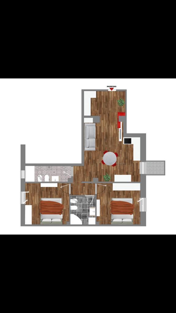 Vendita appartamento ad.ze Parco Talon 87 mq. ristrutturato a nuovo