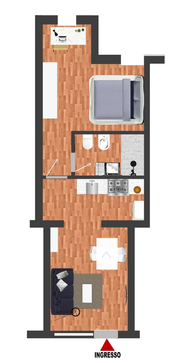 Vendita appartamento ad.ze Siepelunga Via Caruso