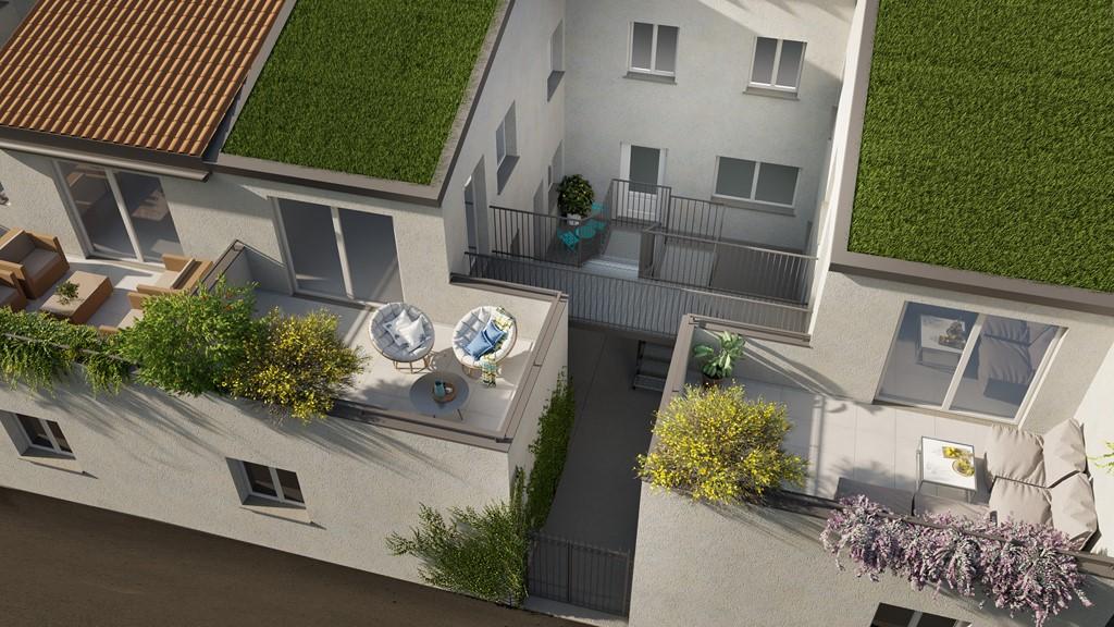 Appartamento in vendita mq. 40 + terrazzo 18 mq.